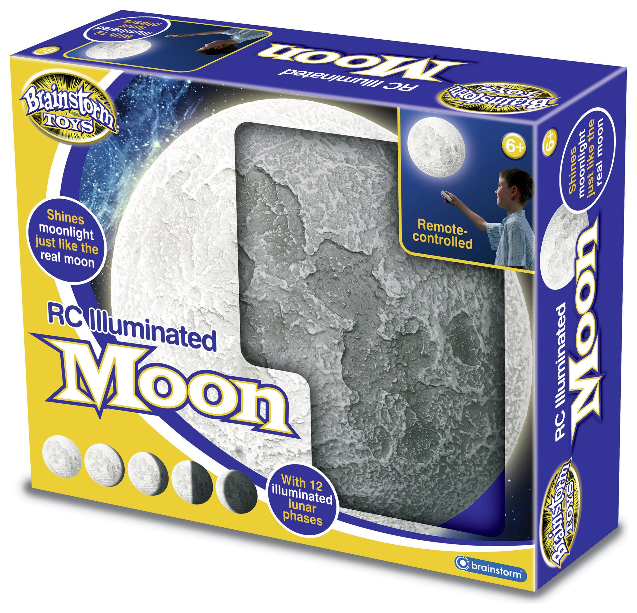 Image of Brainstorm Toys RC Illuminated Moon.