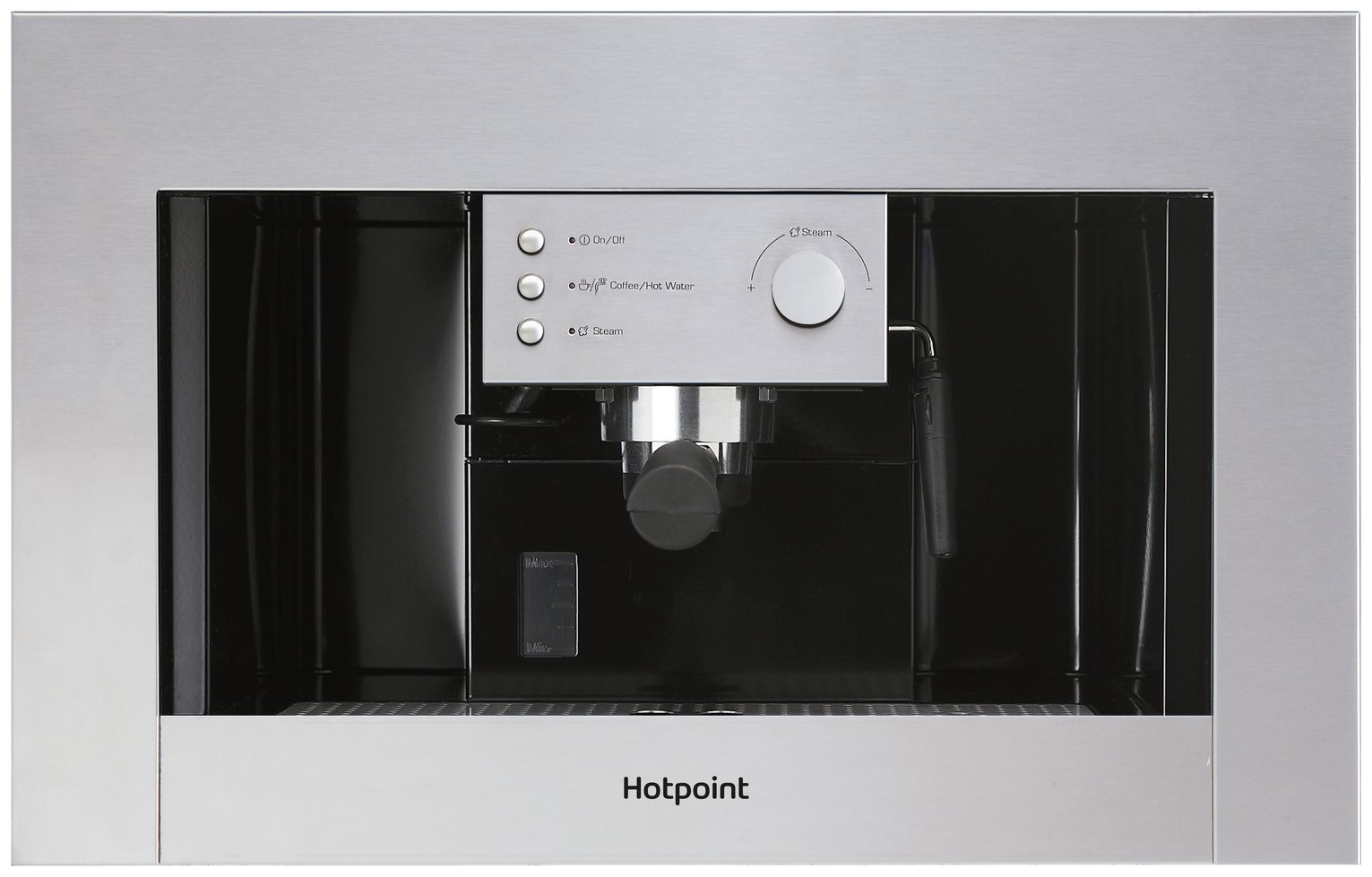 Hotpoint CM5038IXH Built In Coffee Machine - Stainless Steel