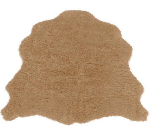 Buy Faux Fur Sheep Shape Rug