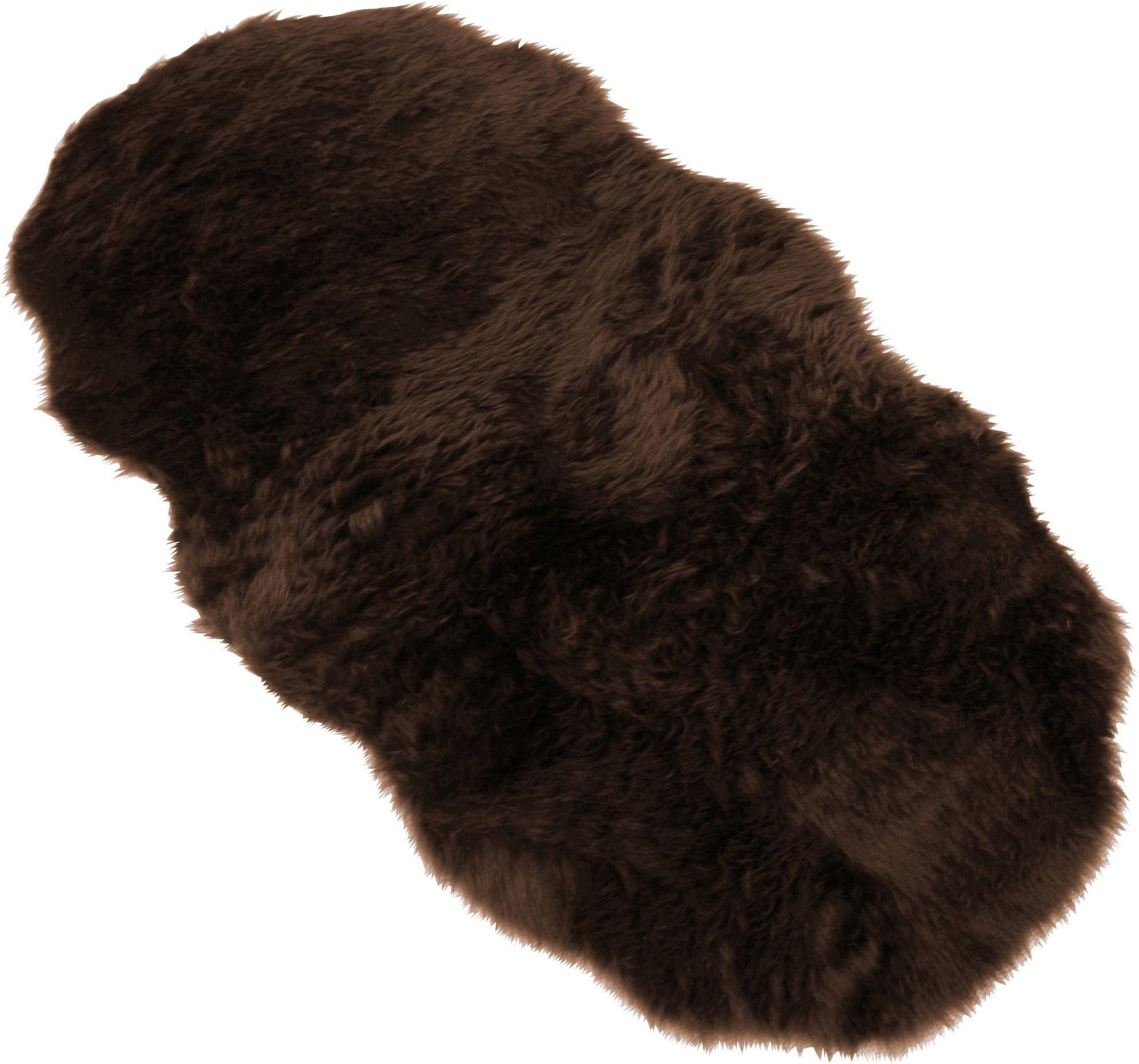 Homemaker Faux Fur Shagy Rug - 75x133cm - Brown
