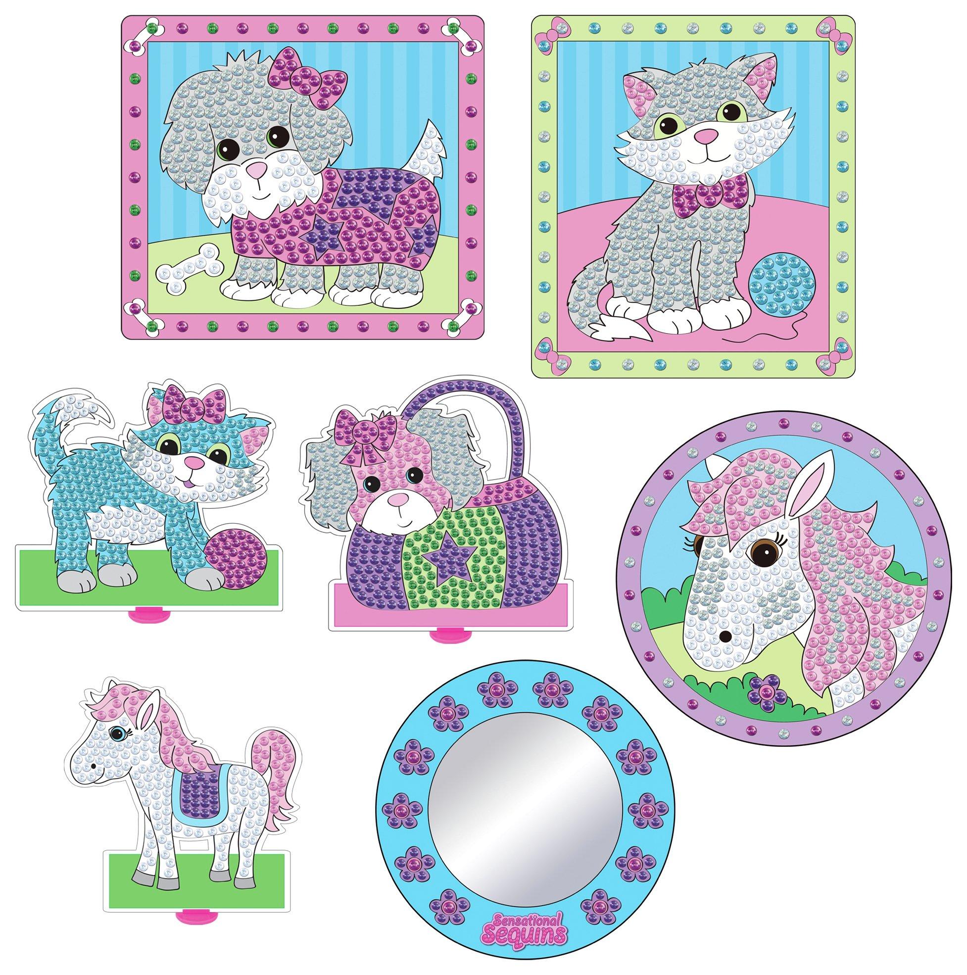 Image of Galt - Toys Sensational Sequins Pretty Pets