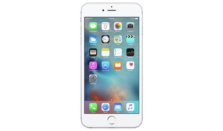 6d8fe2fdea6 Buy SIM Free iPhone 6s Plus 32GB Mobile Phone - Silver