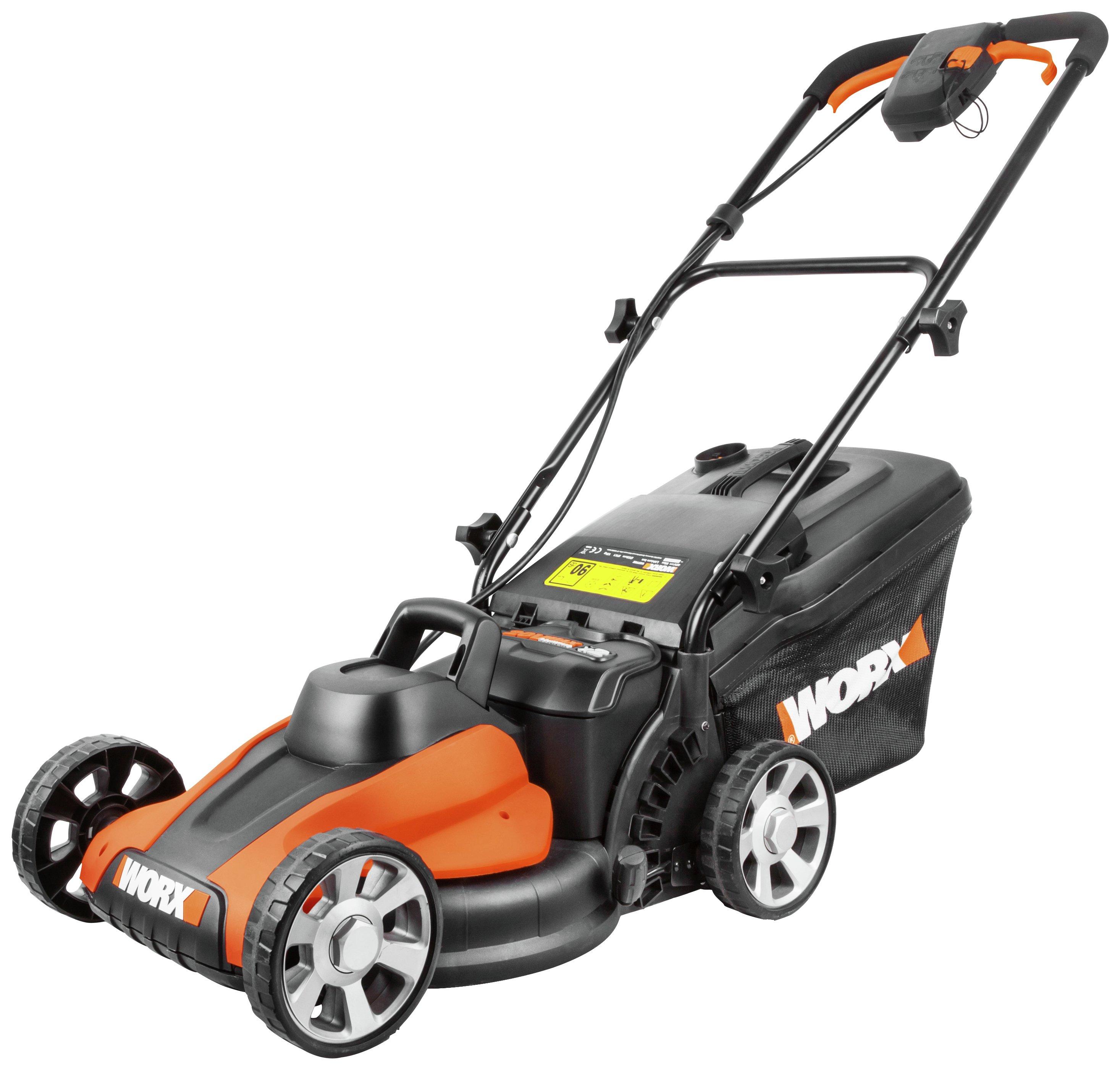 Worx 40v Li Ion Cordless Lawnmower