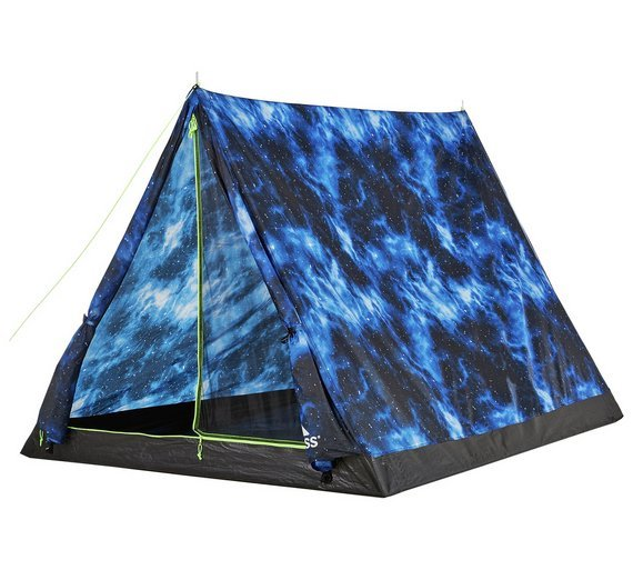 Trespass 2 Man 1 Room Quick Pitch Tent - Night Sky