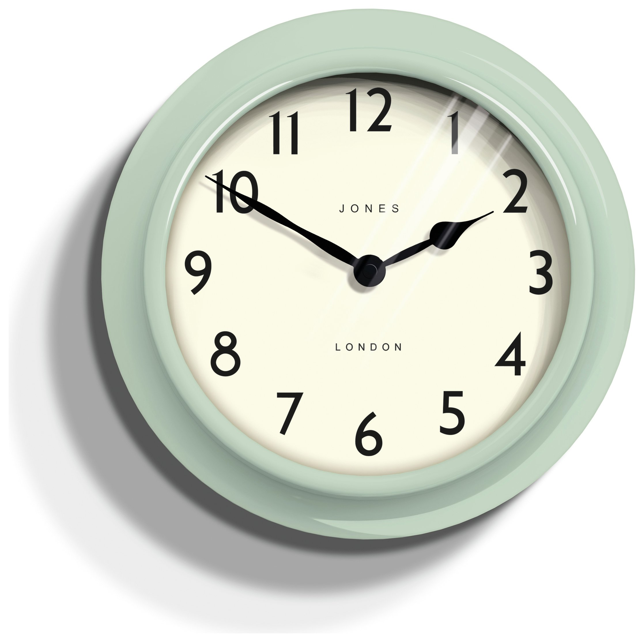Jones Ambassador Clock - Duck Egg.