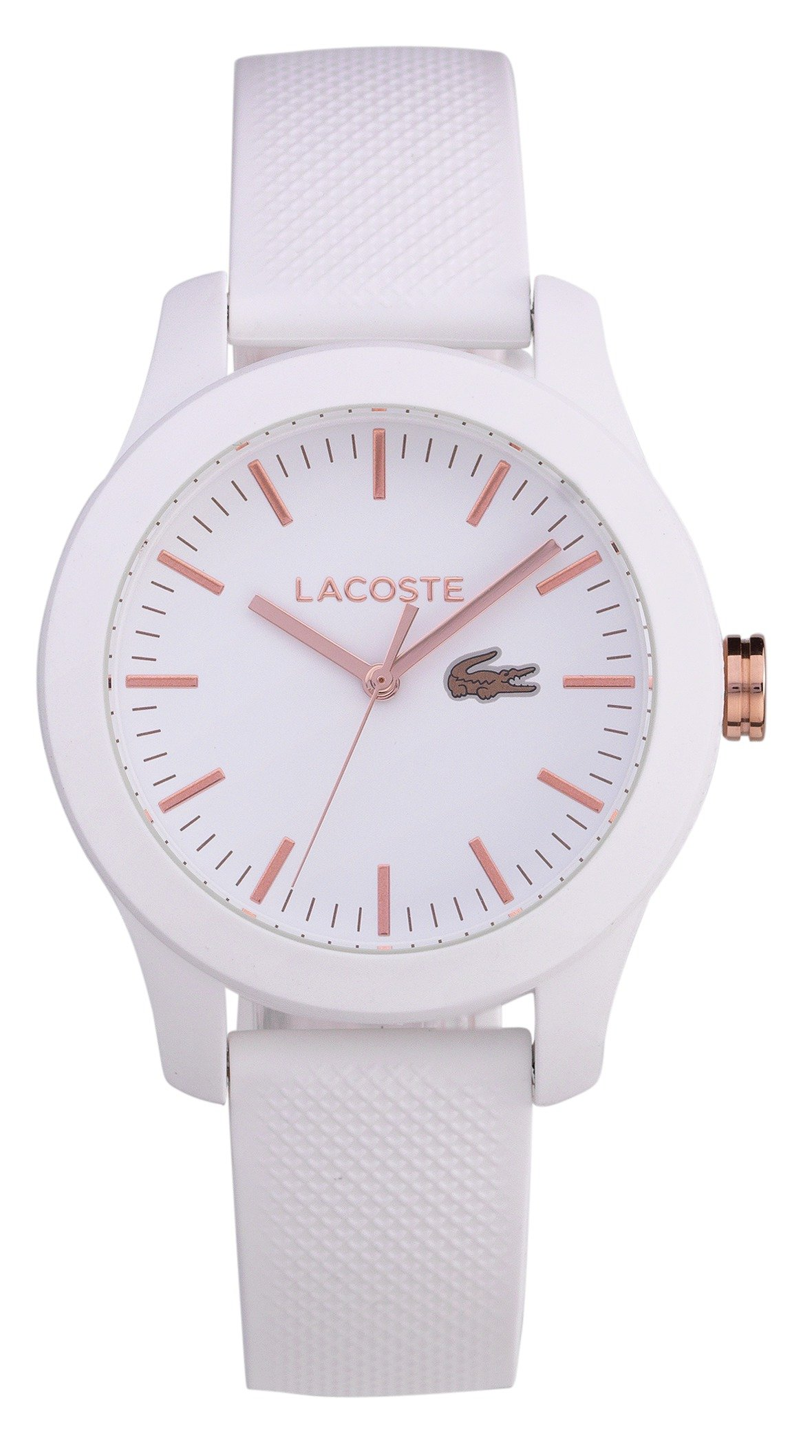 Lacoste Ladies' 12.12 White Rose Watch
