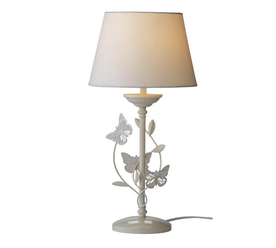Buy Collection Butterflies Table Lamp - Ivory at Argos.co.uk - Your ...
