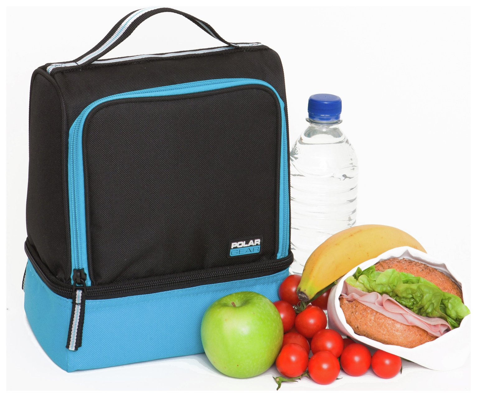 Polar Gear 2 Compartment - Turquoise.