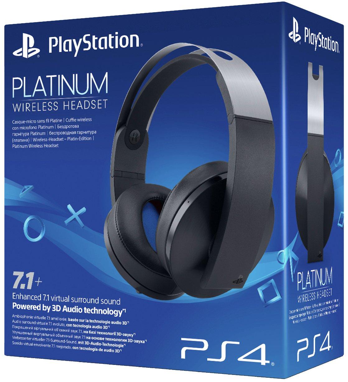 Sony Sony PS4 Platinum Wireless Headset.
