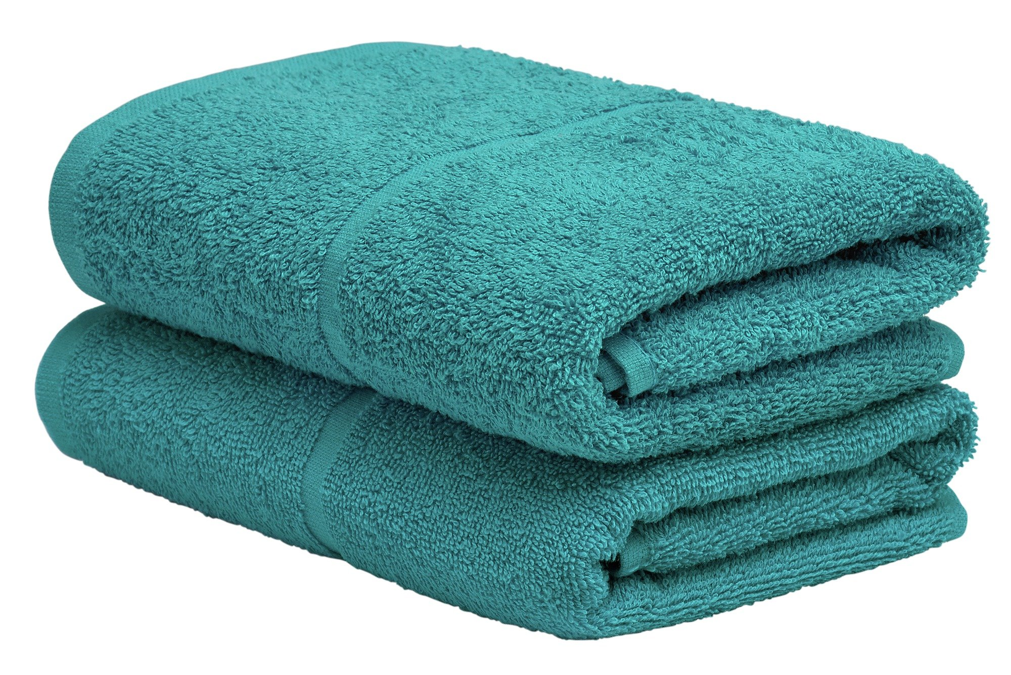 Argos Home Pair of Hand Towels - Teal