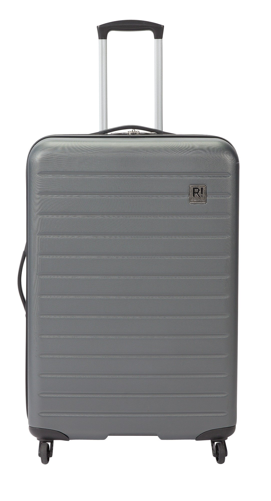 Buy Revelation Dominica Large 4 Wheel Hard Suitcase - Charcoal at ...