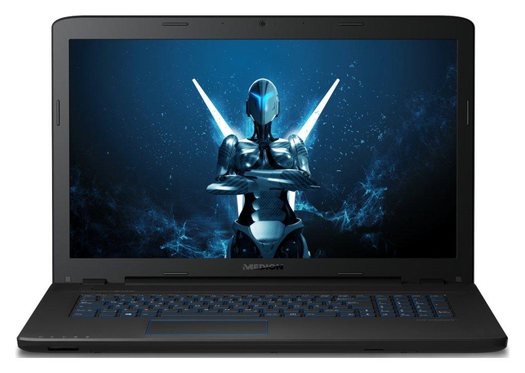 Image of Medion P7647 i5 8GB 1TB GTX950M Gaming Laptop - Black