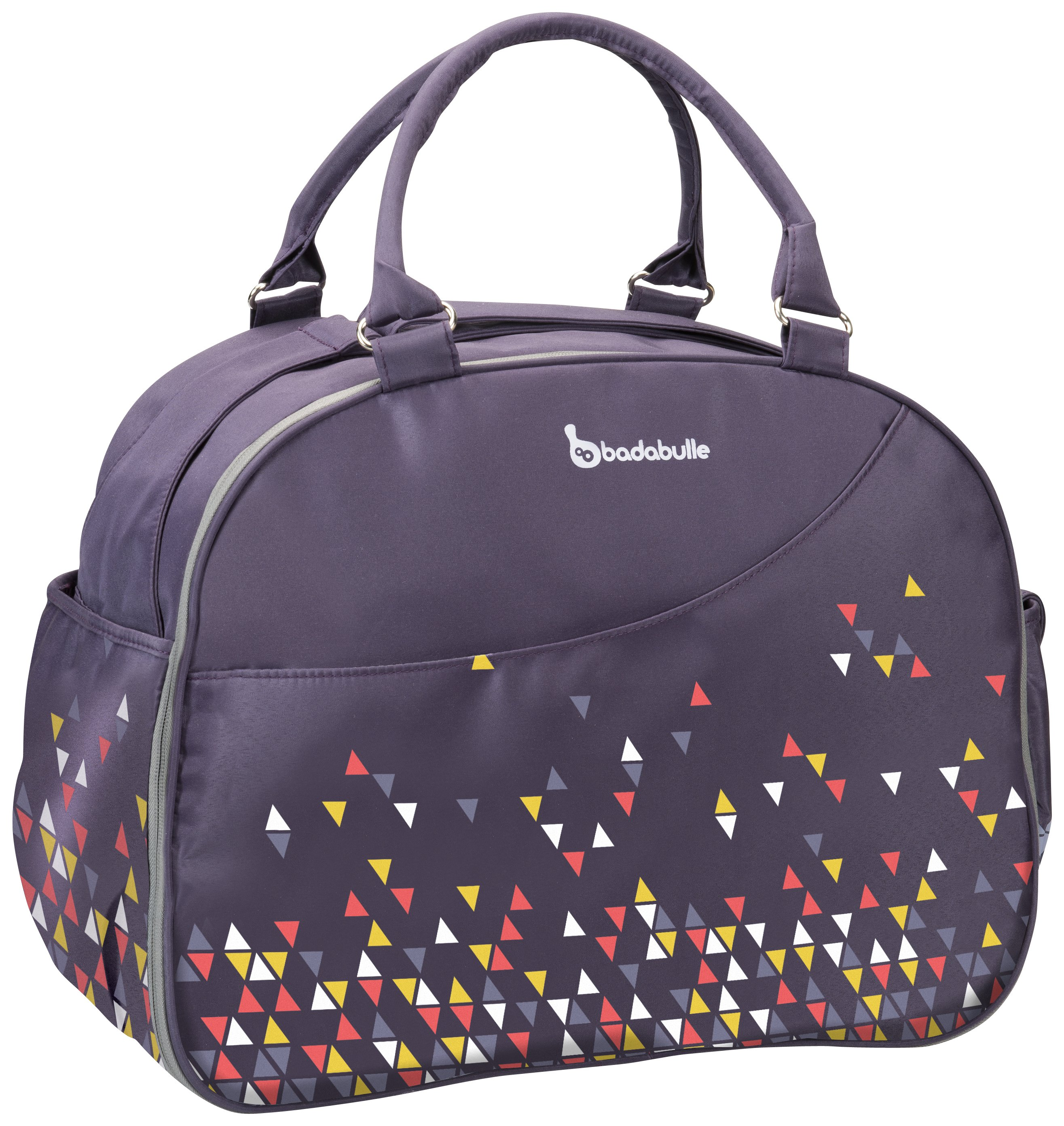Image of Badabulle Weekend Changing Bag - Confetti Purple.