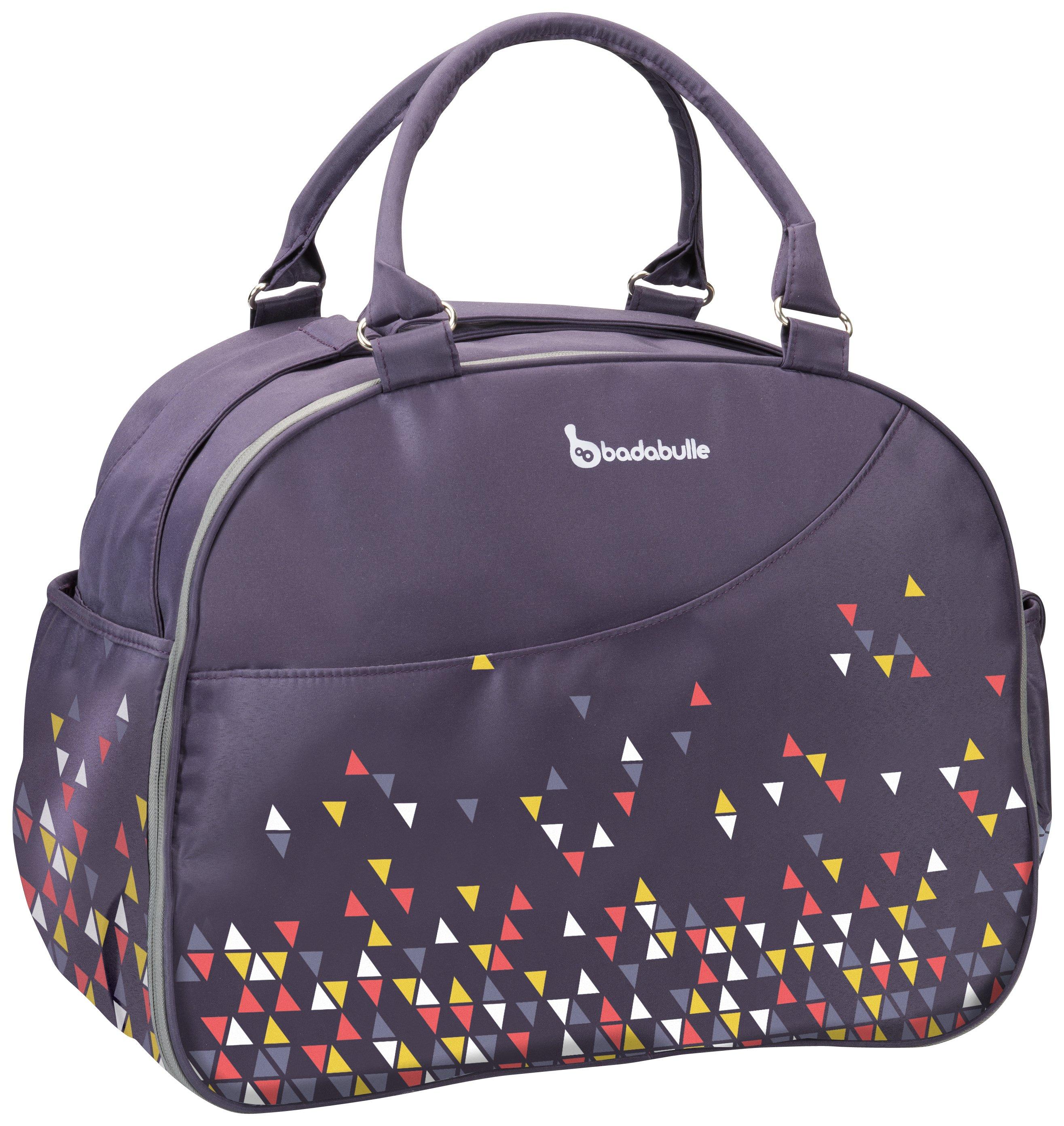 Image of Badabulle Weekend Changing Bag - Confetti Purple.