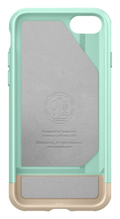 Spigen Spigen Style Armor Apple iPhone 7 Case - Mint Green.