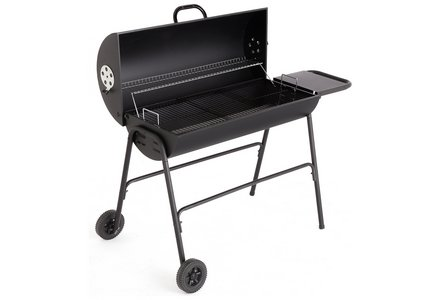 Image of the Extra Large Charcoal Oil Drum BBQ.