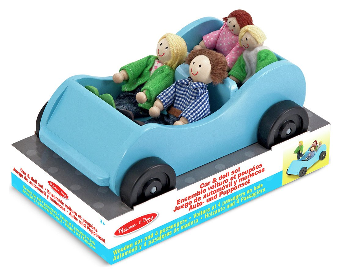 Melissa and Doug - Car And Doll Set