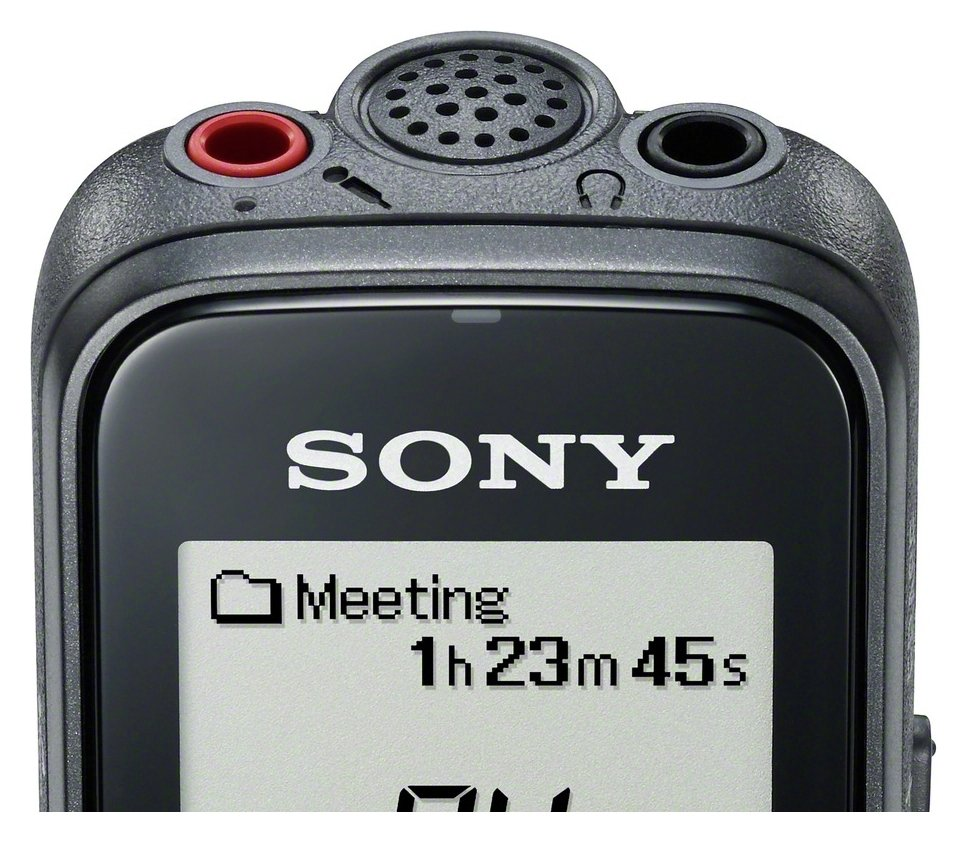 Sony Sony Mono Digital Voice Recorder with PC.