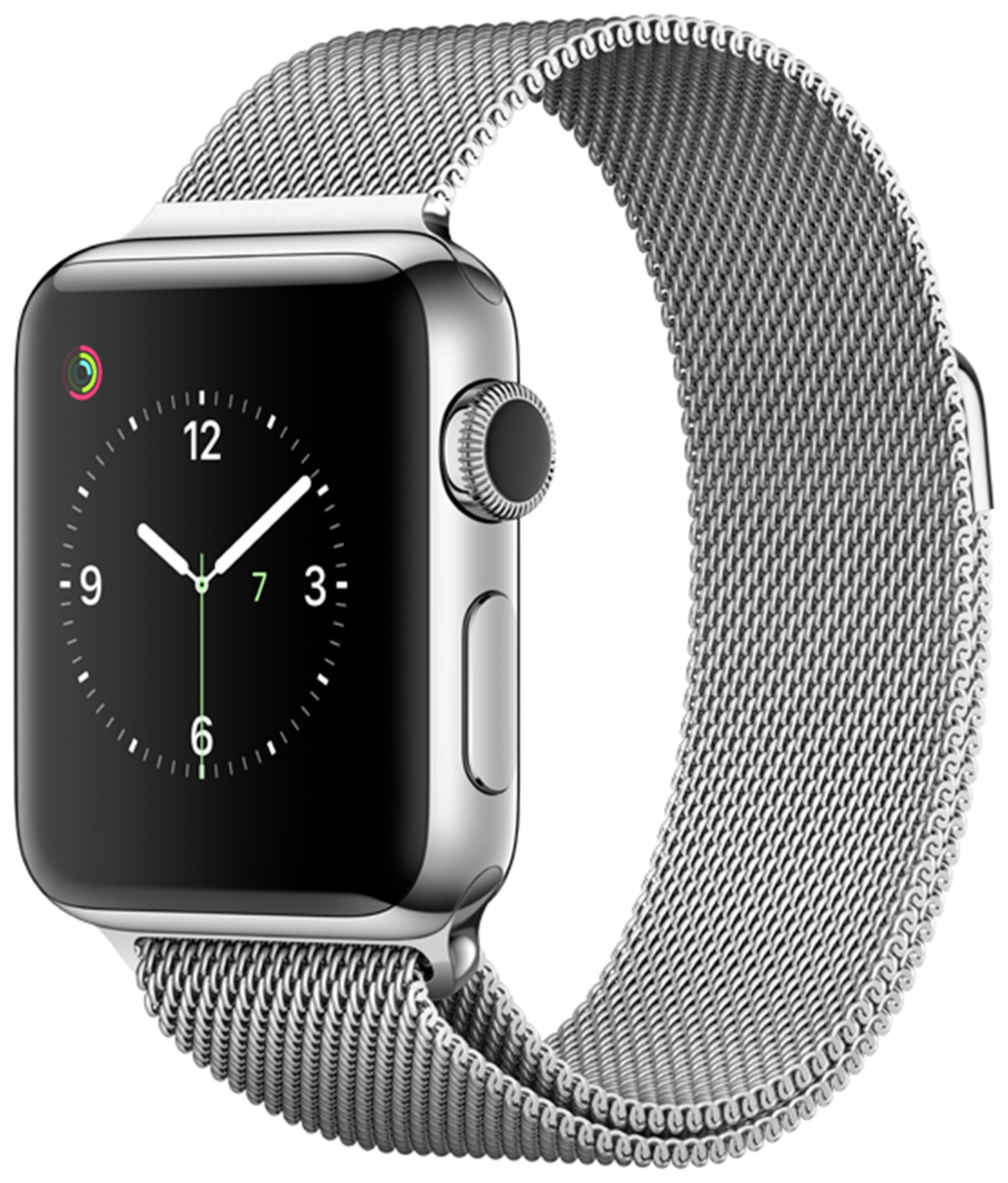 Apple Watch S2 38mm Stainless Steel Silver Milanese Loop. cheapest retail price