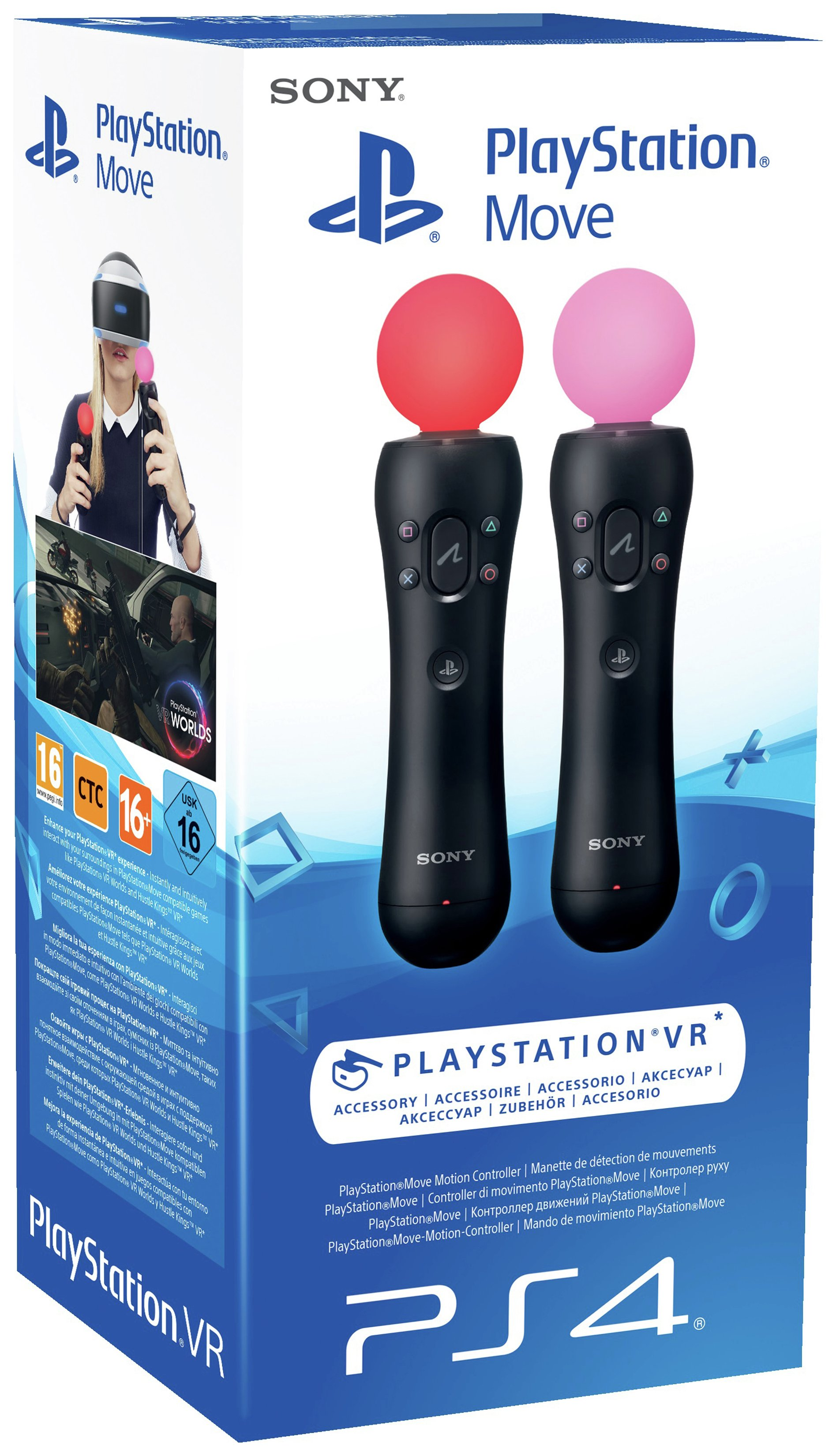 Sony Sony PS4 Move Twin Pack.
