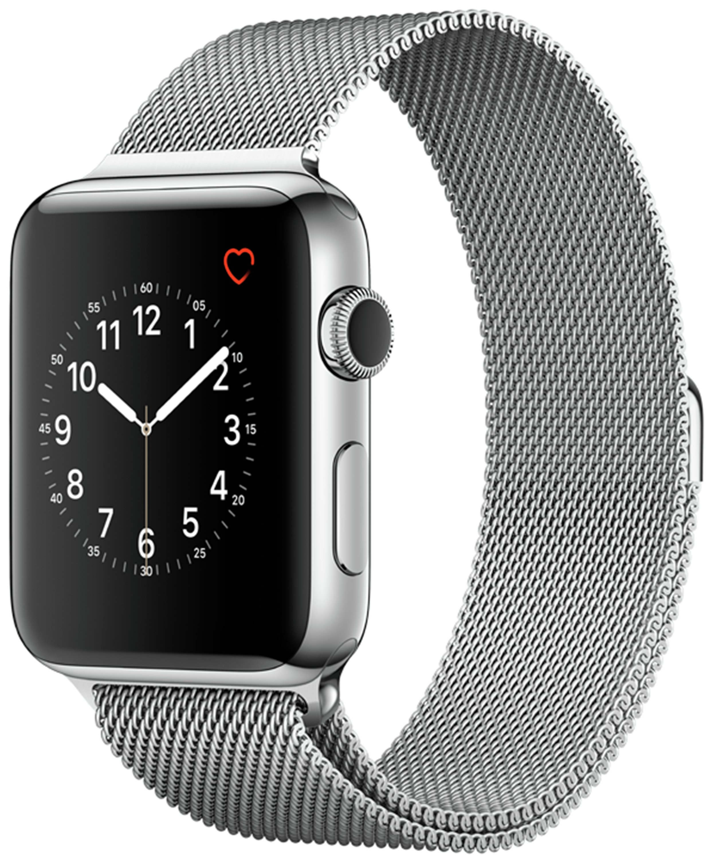 Apple Watch S2 42mm Stainless Steel Silver Milanese Loop. cheapest retail price
