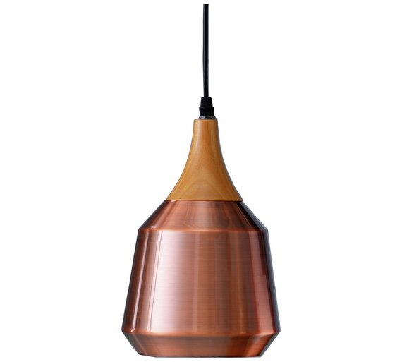 Buy collection coleridge antique copper and wood pendant light at collection coleridge antique copper and wood pendant light aloadofball