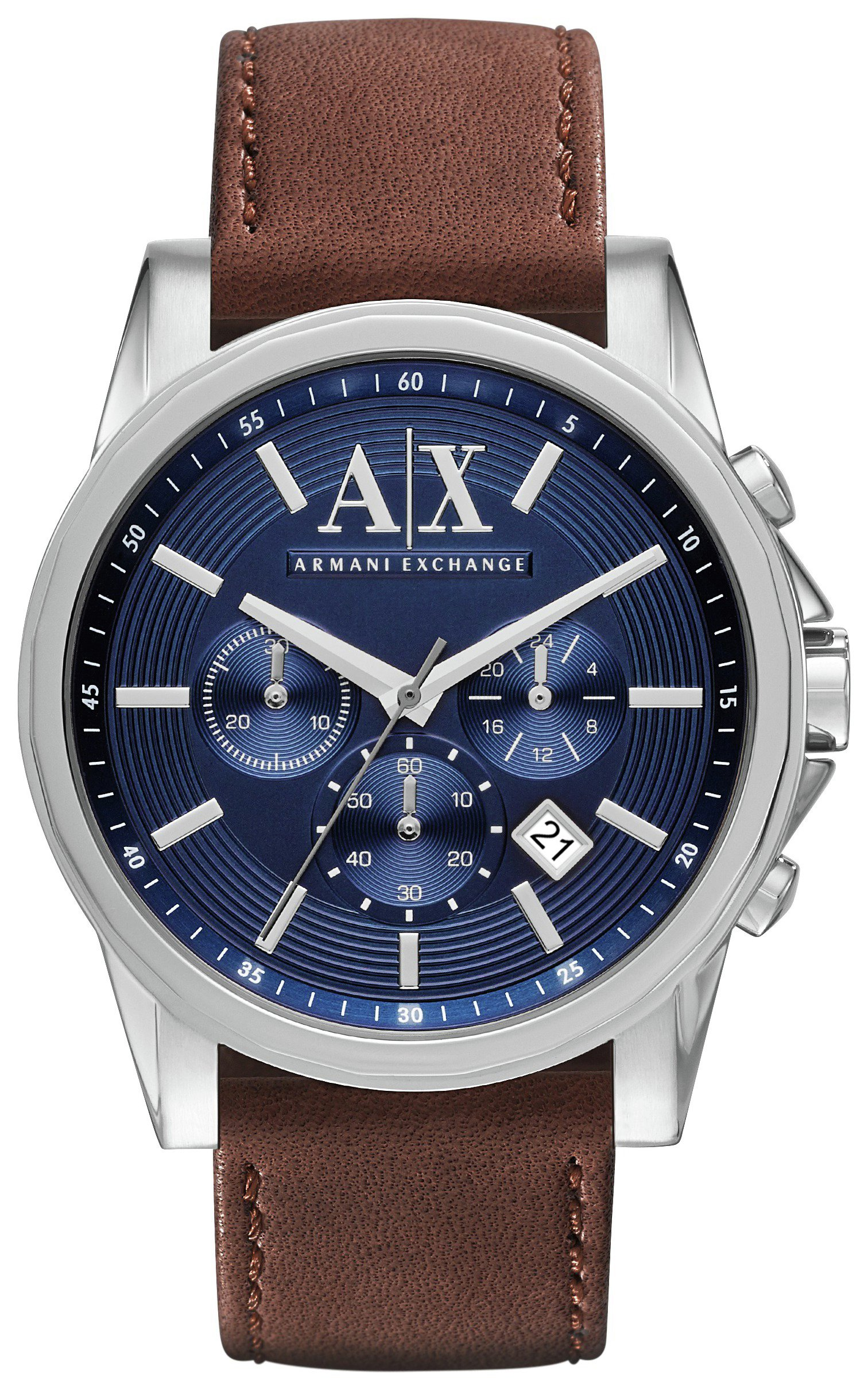 Image of Armani Exchange AX2501 Brown/Navy Chronograph - Watch