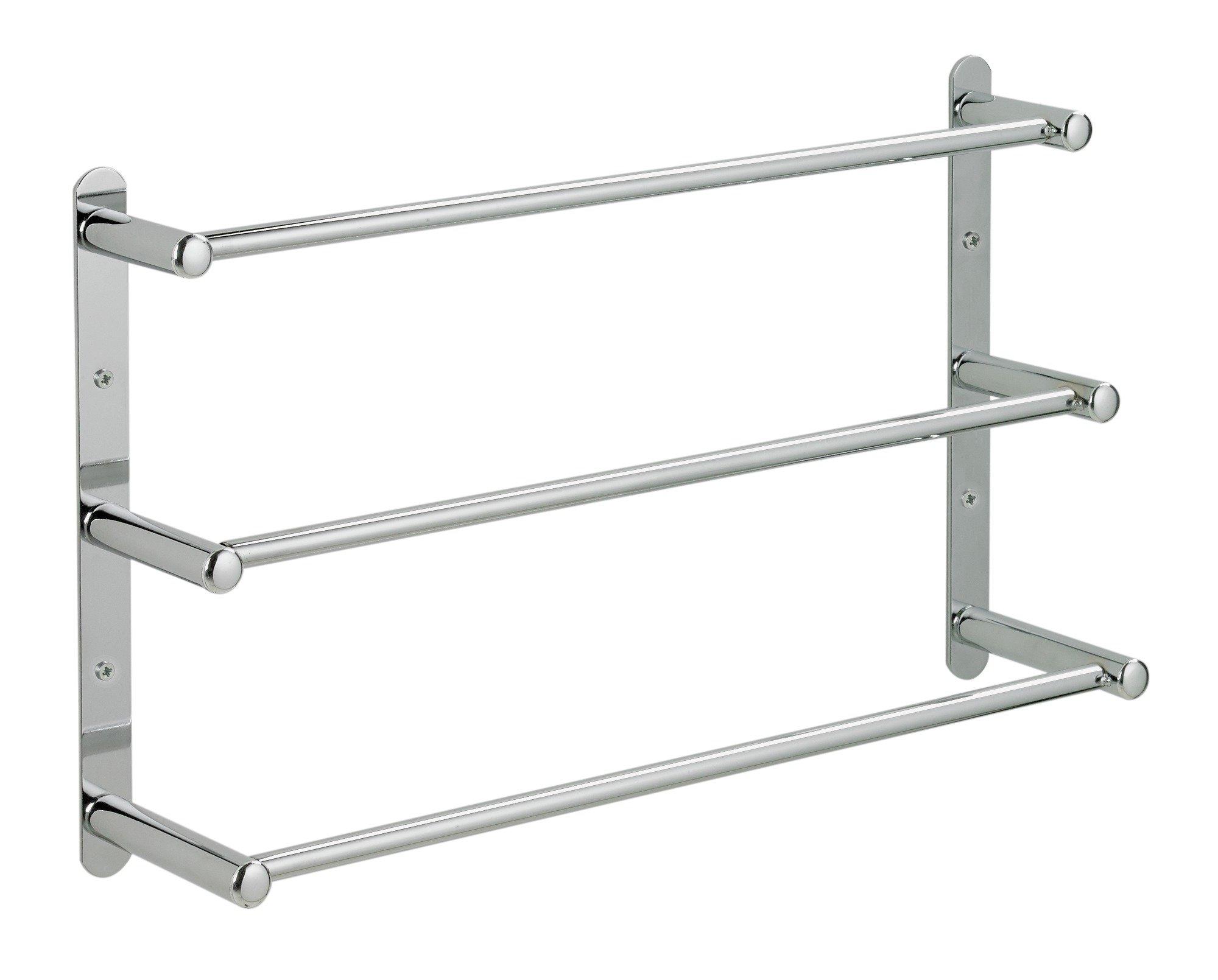 argos home 3 tier wall mounted towel rack port. Black Bedroom Furniture Sets. Home Design Ideas