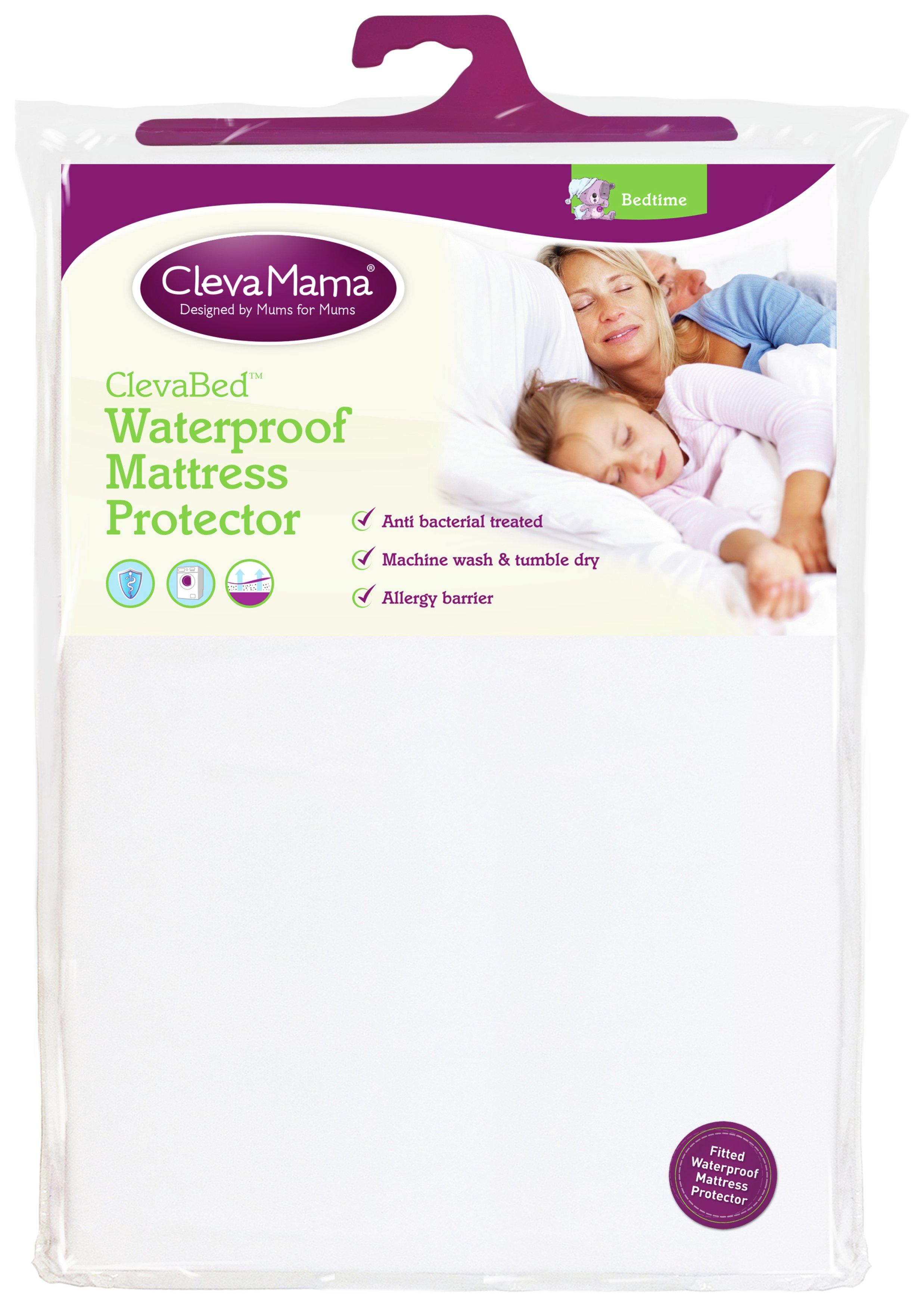 Clevamama Cotton Waterproof Mattress Protector