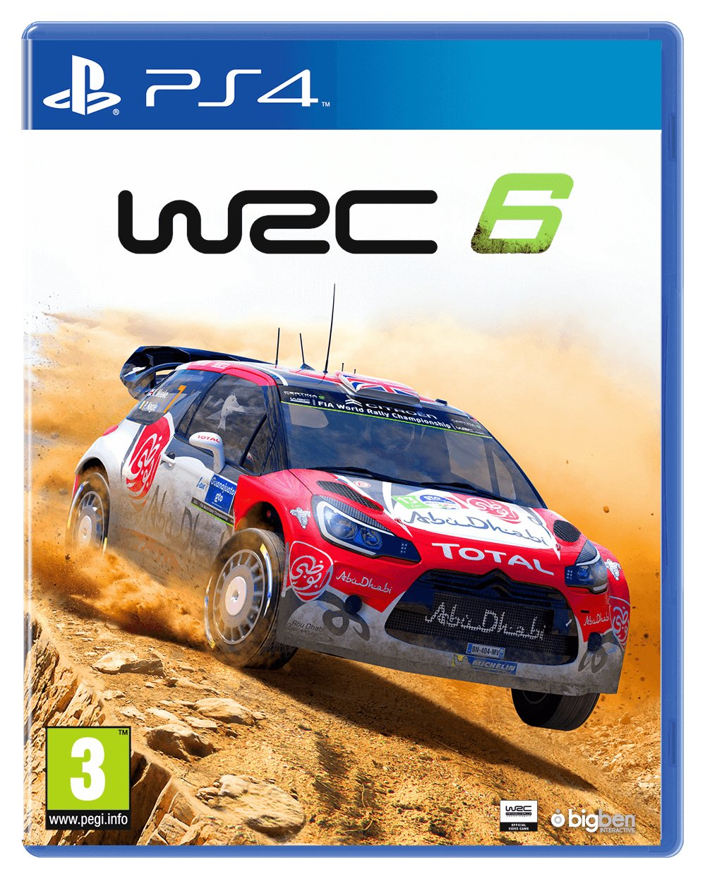 WRC 6 - PS4 - Pre-Order Game