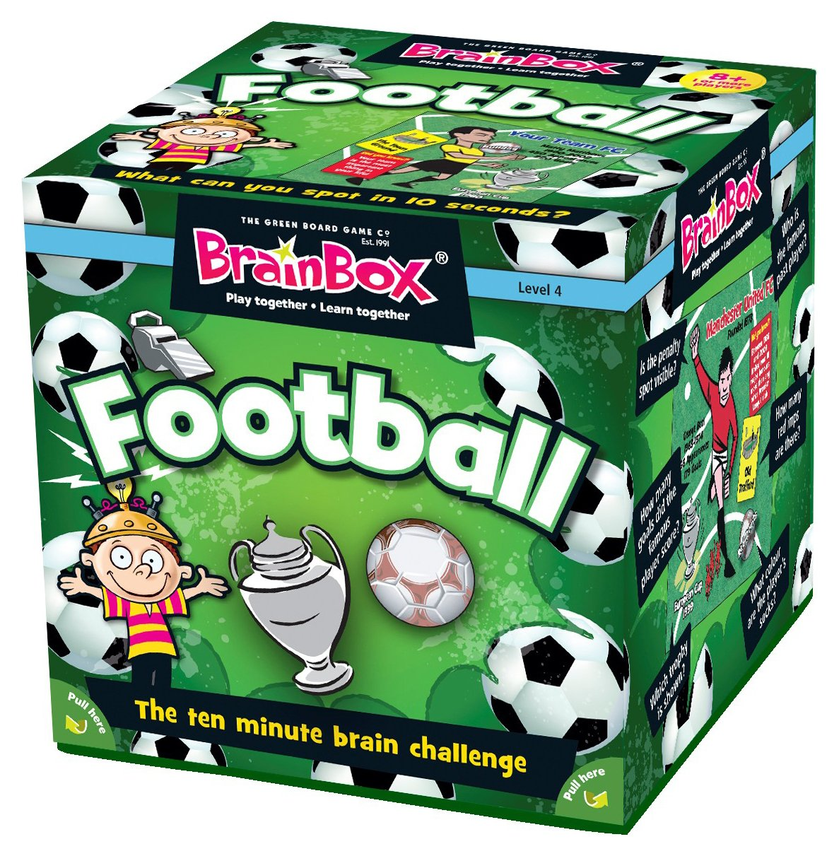 Image of Brainbox Football Quiz Game.