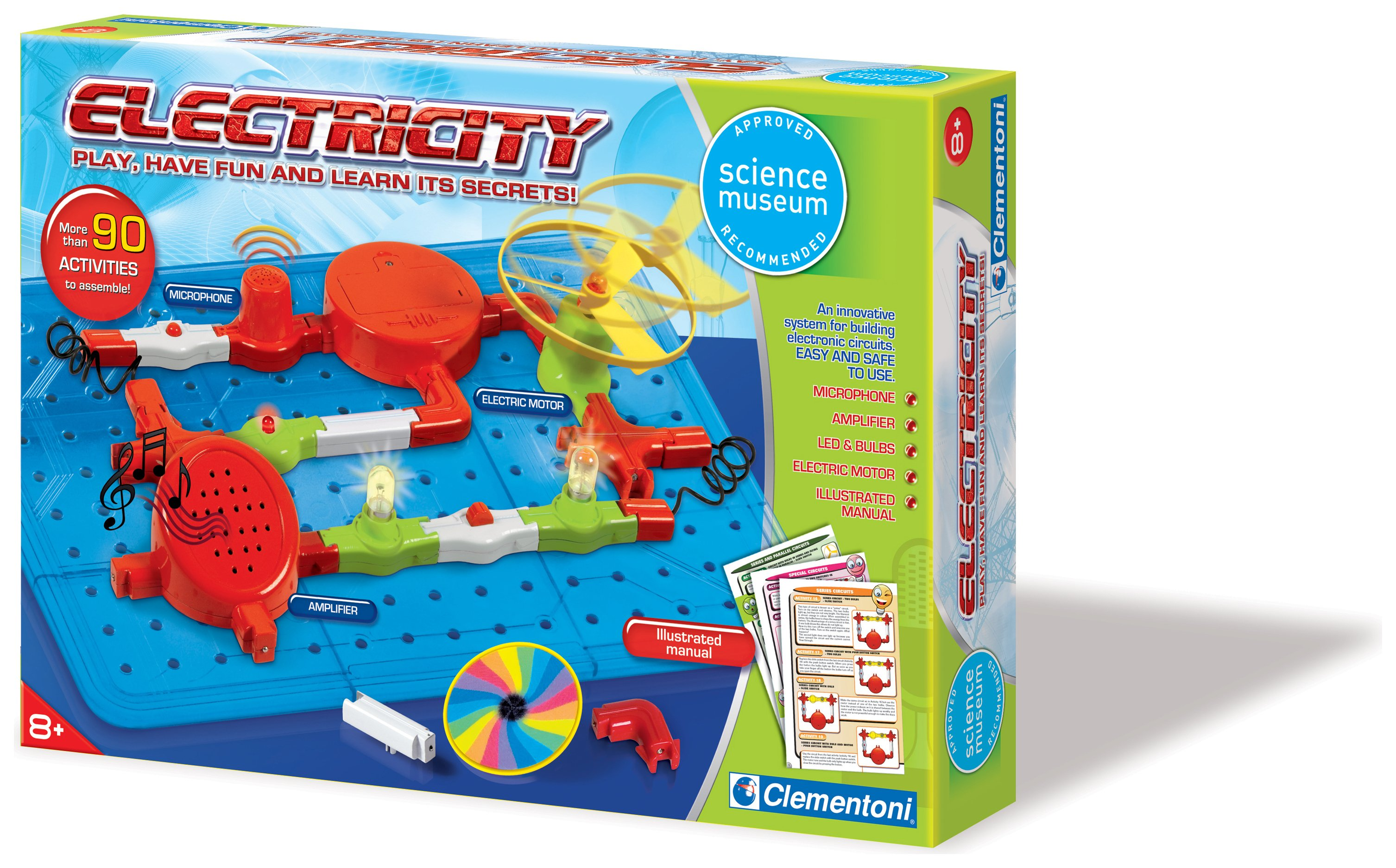 Image of Clementoni Science Museum Electricity Kit.