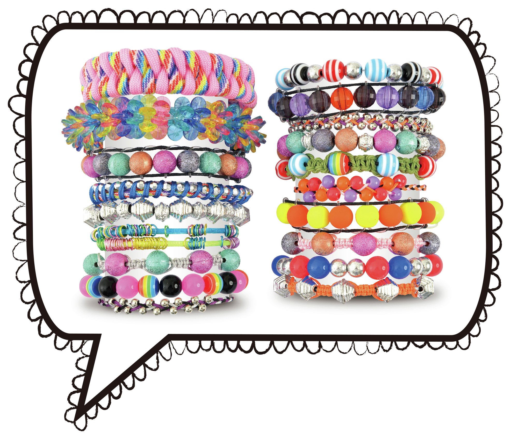 Image of Express Yourself Bead and Braid Party.
