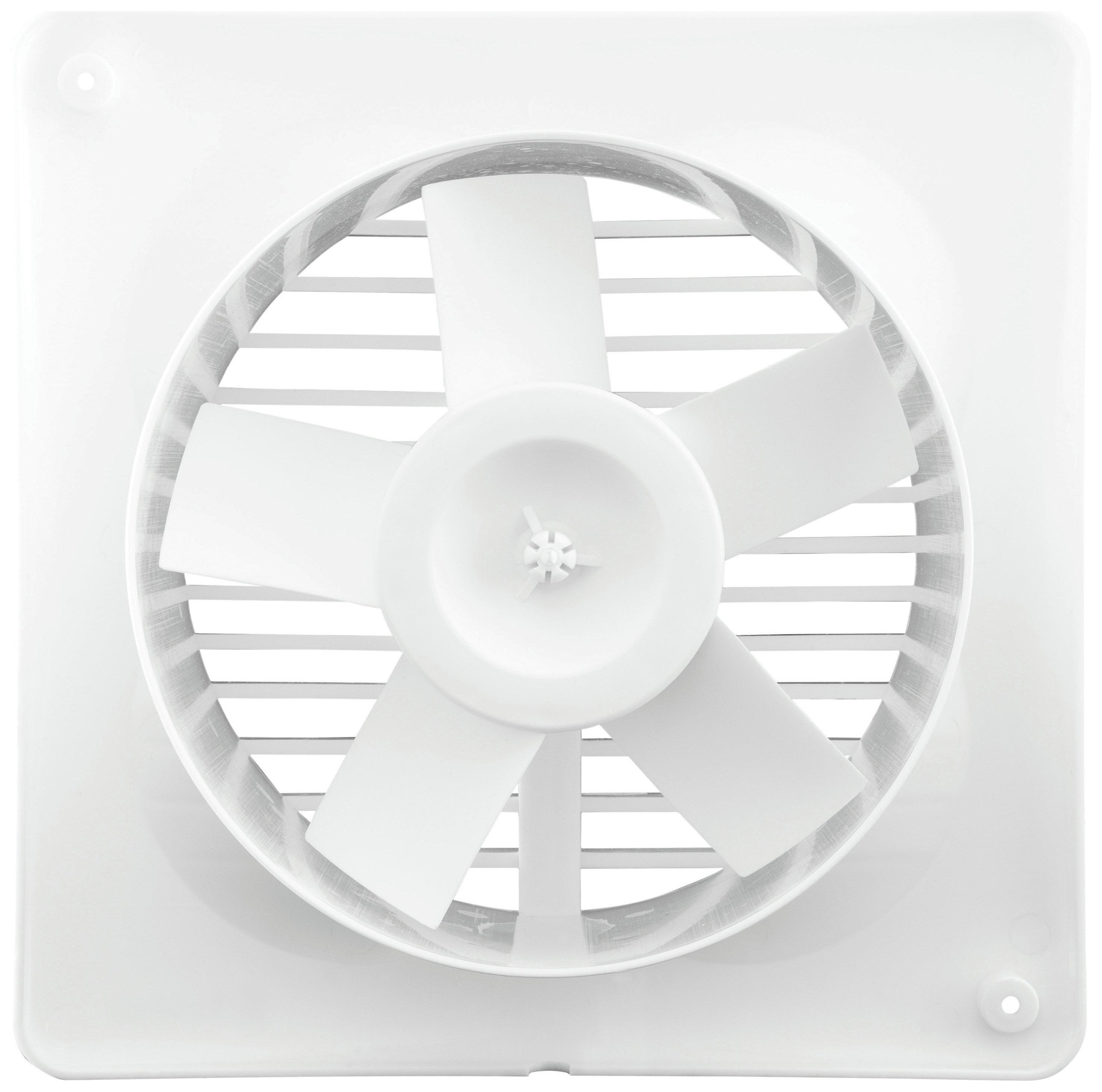 Xpelair Extractor Fans For Bathrooms: Xpelair VX100T Timer Bathroom Fan
