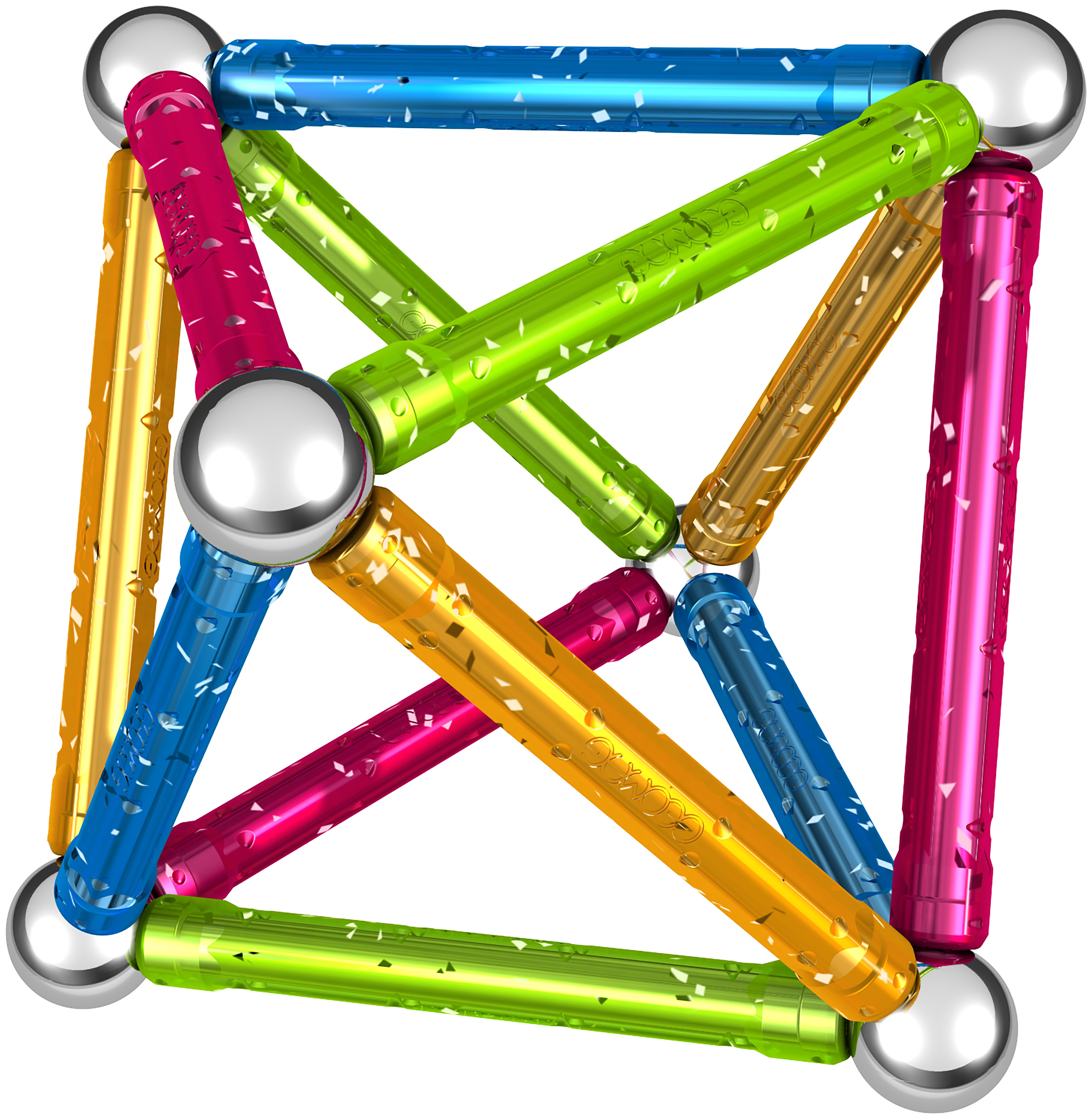 Geomag Glitter 30 Pieces.