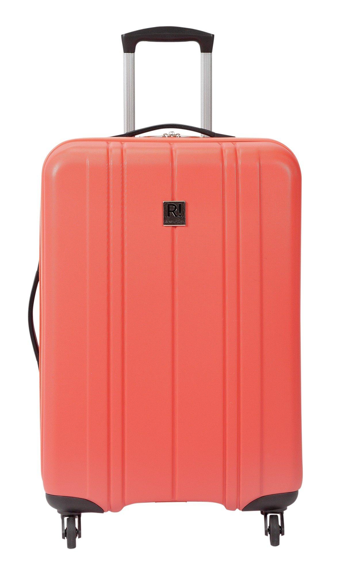 Buy Revelation Santorini Hard 4 Wheel Medium Suitcase - Coral at ...