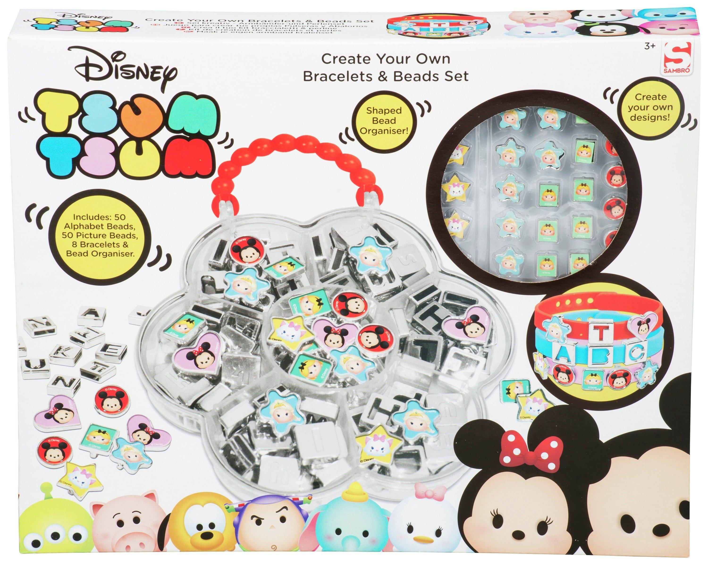 Disney Tsum Tsum Create Your Own Bracelets Bead Set (6066718