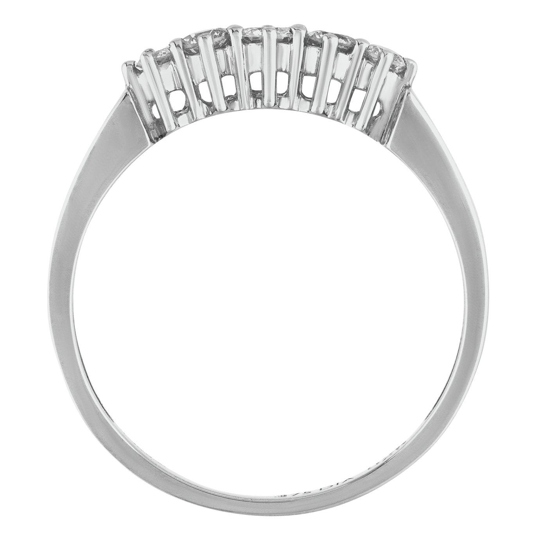 Buy Revere 9ct White Gold 0 25ct tw Diamond Eternity Ring at Argos