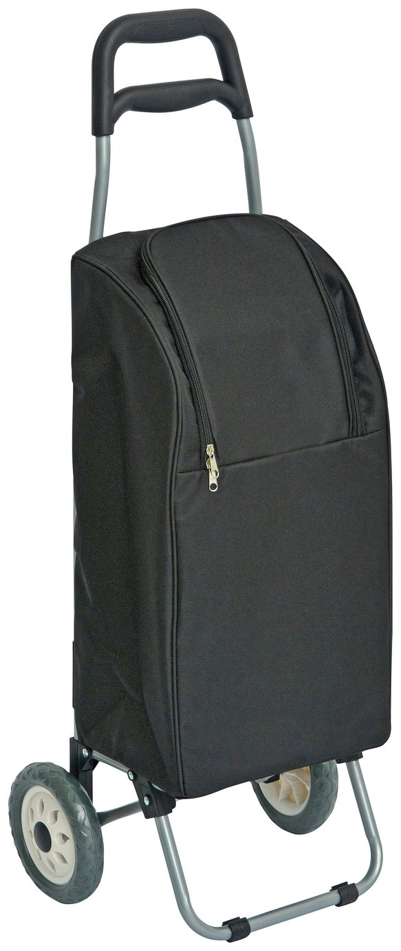 Image of Insulated Shopping Trolley - Black