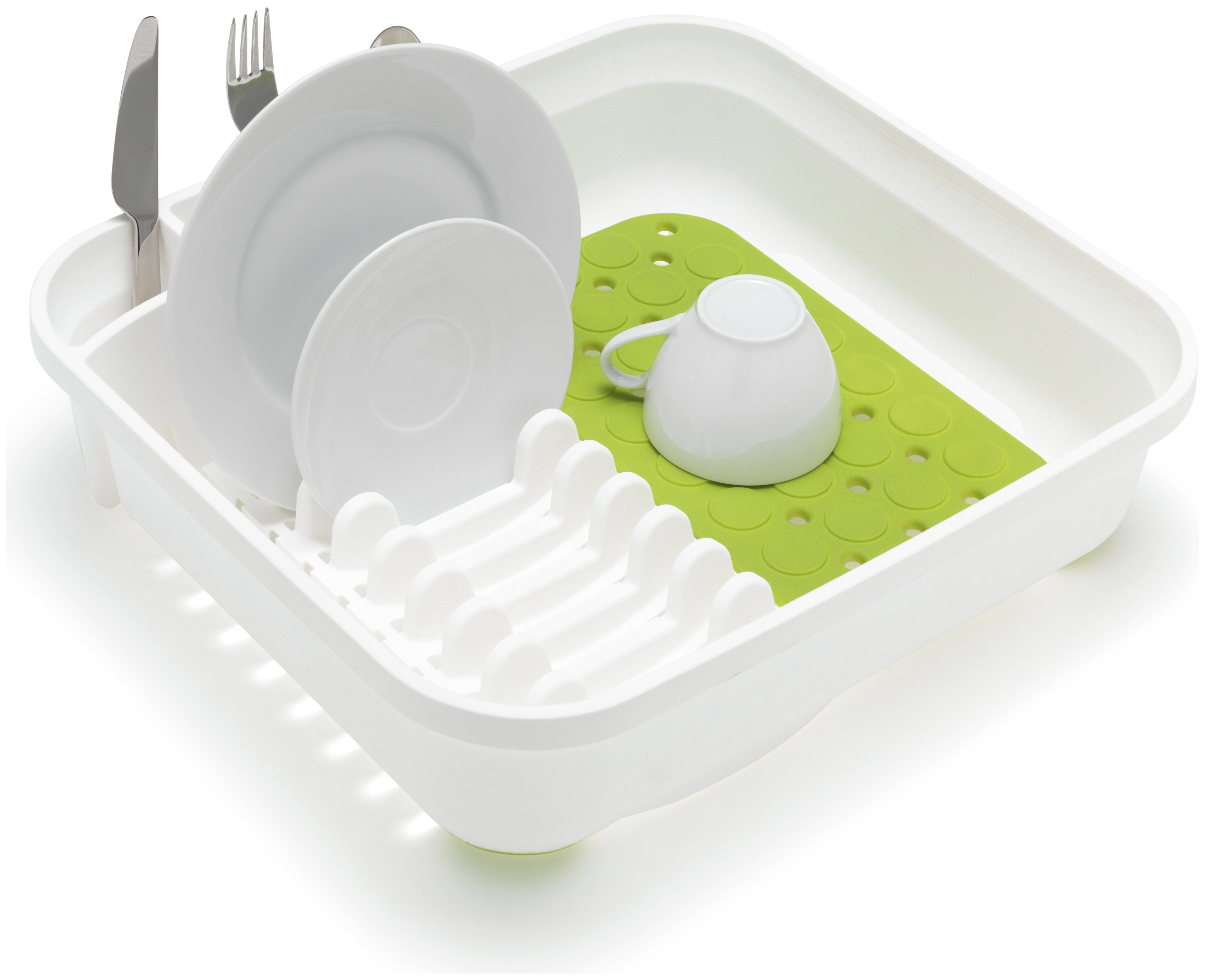 Addis Sink Drainer - White and Green