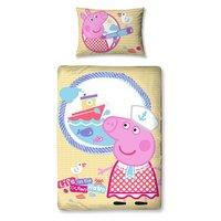 Peppa Pig - Nautical - Duvet Cover Set - Toddler