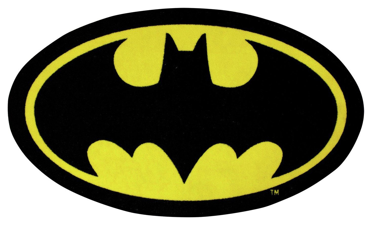 Image of Batman Batcave Shaped Rug.