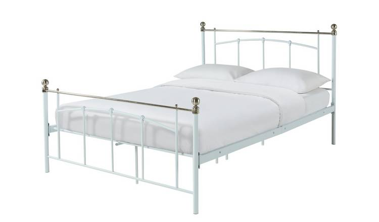 best website b896c dda53 Buy Argos Home Yani Small Double Bed Frame - White | Bed frames | Argos