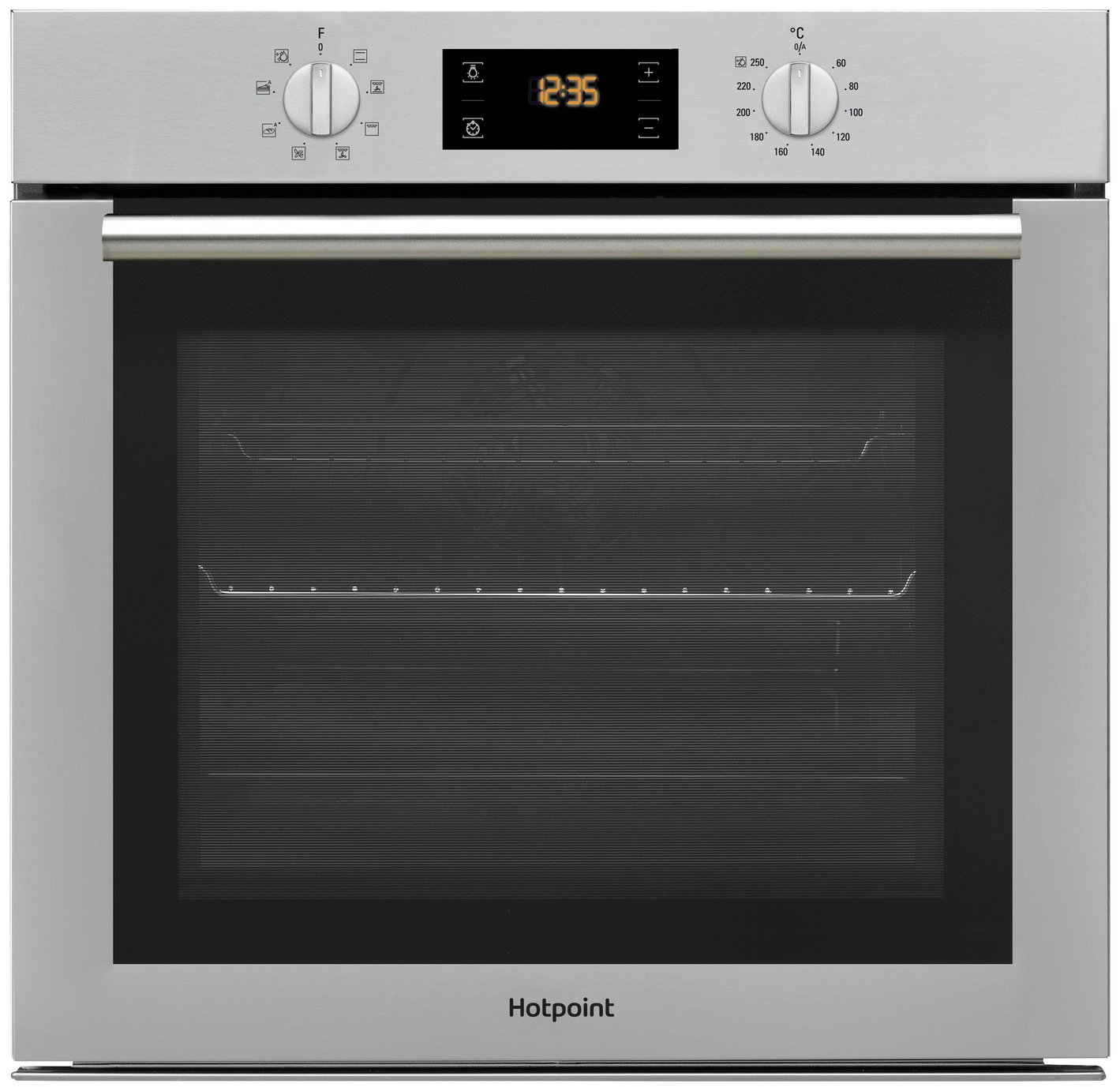 Hotpoint - SA4544HIX Electric Fan Oven - Stainless Steel