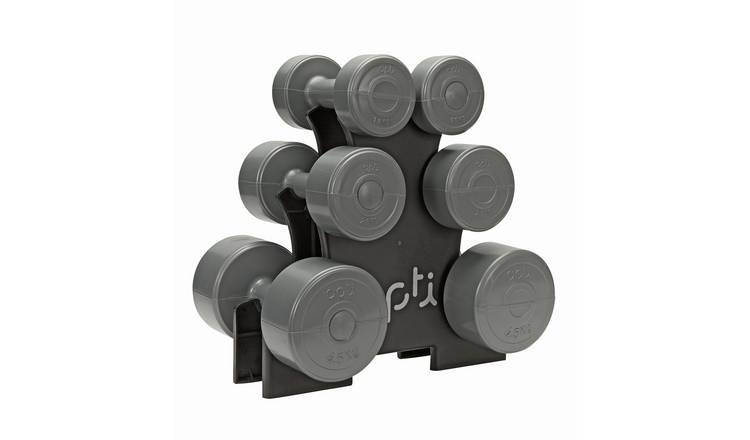 Opti Dumbbell Tree Set