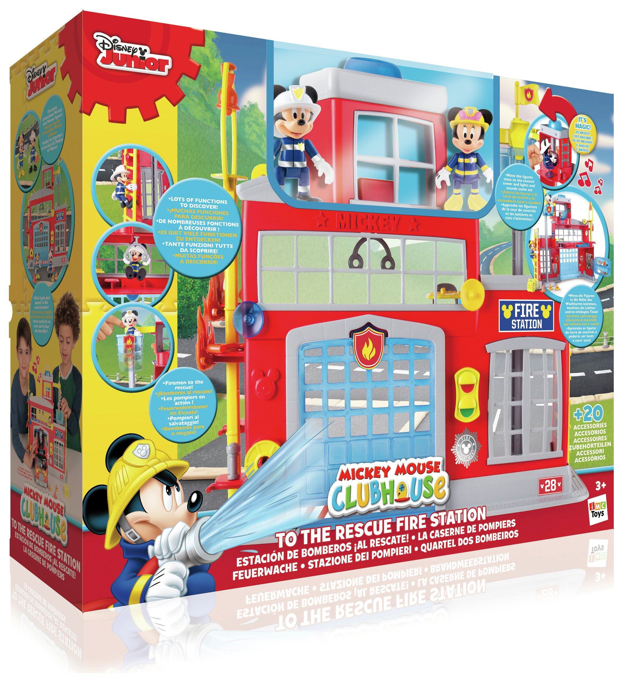 Mickey Mouse Clubhouse To The Rescue Fire Station