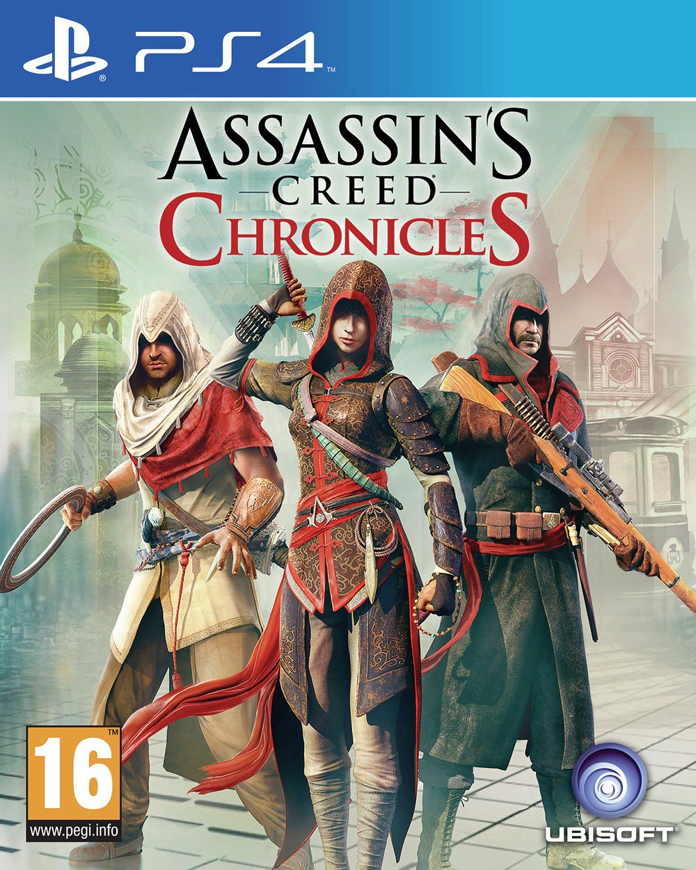 Image of Assassin's Creed - Chronicles - PS4 Game.