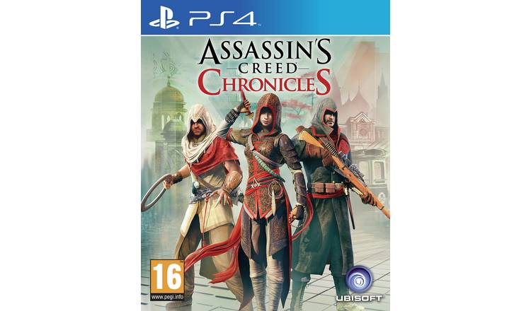 Assassin's Creed: Chronicles PS4 Game.