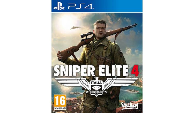 Sniper Elite 4 PS4 Game.