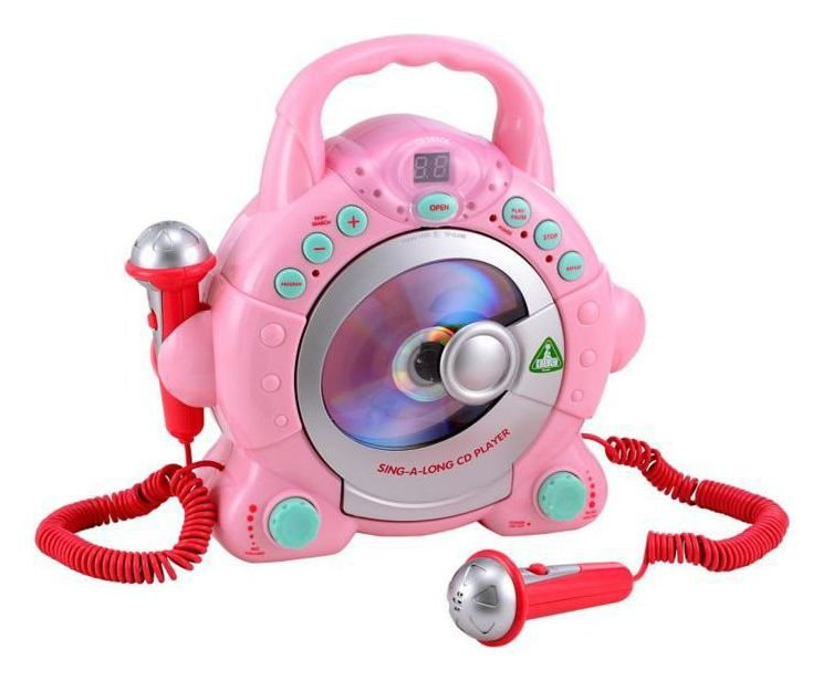 Image of ELC Sing Along CD Player - Pink